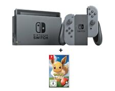 Artikelbild NINTENDO 2500066 SWITCH GRAU + SW Pokemon Evoli! | NEU u. OVP