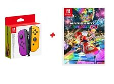 Artikelbild Nintendo Switch Mario Kart 8 Deluxe Joy Con Lila Orange Super Bundle