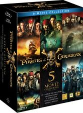 Artikelbild FLUCH DER KARIBIK 1-5 Blu-Ray komplett Box (Pirates of the Caribbean)
