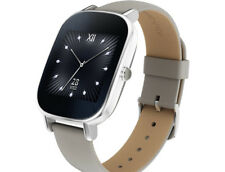 Artikelbild ASUS Zenwatch 2 Smart Watch Leder,  Android, iOS, 113 mm, Silber  NEU