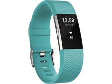 Artikelbild FITBIT Charge 2 Large Tracker 165 206 mm Türkis Silber Fitness Armband Neu&Ovp