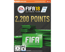 Artikelbild EA Sports Fifa 18 Ultimate Team 2200 Points Game Cards Neu