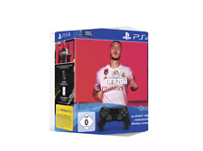Artikelbild SONY DUALSHOCK 4 Wireless-Controller Jet Black + FIFA 20 als Bundle