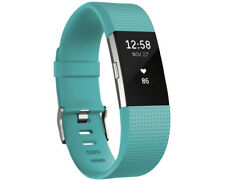 Artikelbild FITBIT Charge 2 Small, Activity Tracker, 140-170 mm, Türkis/Silber