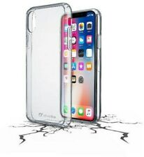 Artikelbild CellularLine Handytaschen Clear Duo Hardcover für iPhone X