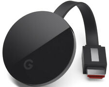 Artikelbild GOOGLE Chromecast Ultra Streaming Player, Schwarz NEU