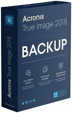 Artikelbild ACRONIS True Image 2018 1 Computer Nr. 1 Backup Software, NEU / OVP
