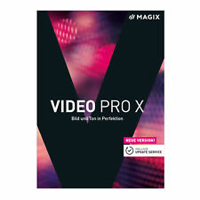 Artikelbild MAGIX Video ProX Version 9 (Limited Edition), DVD Box, NEU / OVP