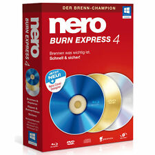 Artikelbild NERO Burn Express 4, Der Brenn-Champion, DVD Box, NEU / OVP
