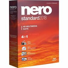 Artikelbild NERO Standard 2018, No.1 HD Multimedia Suite DVD Box, NEU / OVP