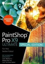 Artikelbild COREL Paintshop Pro X9 Ultimate Special Edition, DVD Box, NEU / OVP