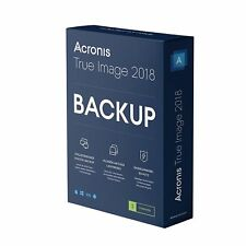 Artikelbild ACRONIS True Image 2018 3 Computer, Nr. 1 Backup Software Box, NEU OVP