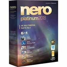 Artikelbild NERO 2018 Platinum - 4K Multimedia Suite No.1, DVD Box, NEU / OVP