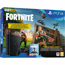 Artikelbild SONY PlayStation PS4 Slim 500GB + Fortnite Royal Bomber Pack NEU / OVP