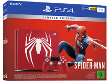 Artikelbild SONY PlayStation PS4 1TB Marvel Spider Man Limited Edition Amazing Red