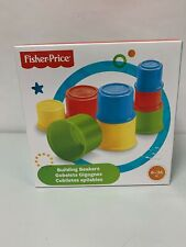 Artikelbild Fisher-Price Building Beakers / Baubecher 6-36 M (NEU & OVP!)