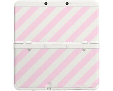 Artikelbild Nintendo New 3DS Coverplate Rosa-Weiß gestreift