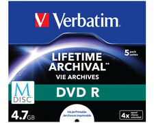 Artikelbild Verbatim Lifetime Archival DVD R 4,7 GB 5er Pack