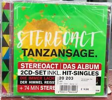 "Artikelbild Stereoact Tanzansage (Deluxe Edition) inkl. "" Die immer lacht "" 2 CD"