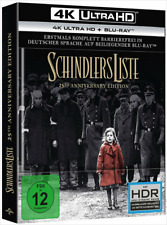 Artikelbild 4K Ultra HD Bluray Schindlers Liste + 2D Blu-ray 25th Anniversary Edtition
