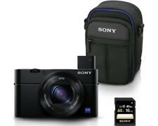Artikelbild SONY DSC - RX100 III KIT DIGITALKAMERA SCHWARZ 20 . 1 MP  WLAN