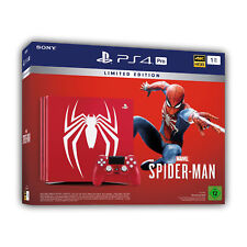 Artikelbild Sony PlayStation PS 4 Pro, Marvel Spider-man limeted Edition 1 TB, NEU & OVP