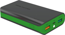 Artikelbild RealPower PB-6k 6000 mAh Powerbank Color Edition Grün