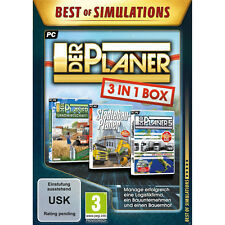 Artikelbild Der Planer 3 in 1 Box (PC) Best of Simulations NEU OVP