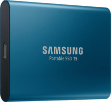 Artikelbild Samsung - T5 Portable SSD 250GB Oceanblue, Solid State Drive, extern