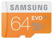 Artikelbild Samsung MB-MP64DA-EU-26 64GB MICRO SDXC CL10 EVO MIT ADAPTER