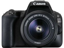 Artikelbild CANON EOS 200D Kit Spiegelreflex, 24.2 MP, 18-55 mm, 7.7 cm Touchscreen, WLAN