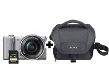 Artikelbild SONY Alpha 5000 Kit Systemkamera 20.1 MP, 16-50 mm f/5.6, 7.5 cm Display, silber