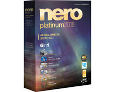 Artikelbild Nero Platinum 2018 - Vollversion Brenn Software 4K Multimedia NEU OVP