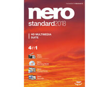 Artikelbild Nero Standard 2018 - Vollversion Brenn Software HD Multimedia Suite NEU OVP