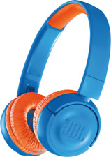 Artikelbild JBL JR300BT JR300BT Kabelloser On-Ear-Kopfhörer für Kinder Blau/orange NEU OVP