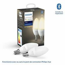 Artikelbild Philips Hue White E14 Doppelpack 2x470lm Bluetooth