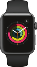 Artikelbild Apple Watch Series 3 42mm Space Grey Sport Band Black