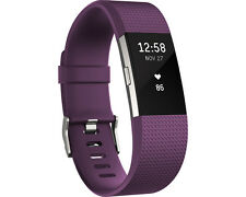 Artikelbild FITBIT Charge 2 Large Activity Tracker Fitness Armband Herzfrequenz, Lila Plum