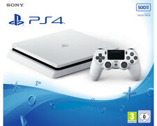 Artikelbild NEU&OVP SONY PlayStation 4 Slim 500GB Konsole+Controller Weiß Gaming AKTION