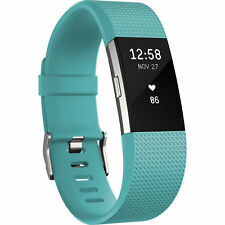 Artikelbild FITBIT Charge 2 Small Activity Tracker 140-170mm Türkis/Silber #7300A2#