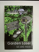 Artikelbild Laserworld GS-60G move 30-60m/ W532nm/ IP67 Gartenlaser grün