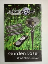 Artikelbild Laserworld GS-200RG move II 100mW/650nm IP67 Gartenlaser