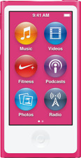 Artikelbild Apple iPod Nano Pink 2,5 Zoll Display 16 GB Specher Aussteller