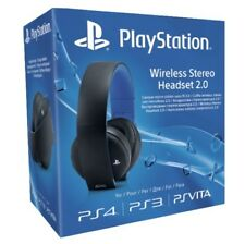 Artikelbild SONY PS4 Wireless Headset Stereo 2.0 Schwarz Blau NEU