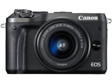 Artikelbild Canon EOS M6 BLACK + EF-M15-45 IS STM Kit