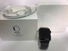 Artikelbild Apple Watch Series 2 38mm Stainless Steel Gliederarmband Space Black #R010