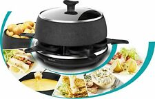 Artikelbild Tefal RE12C8 Raclette - Fondue Cheese´n Co Cherry Black NEU&OVP