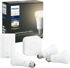 Artikelbild Philips Hue White E27 3er Starter Set 3x806lm Bluetooth, Dimmschalter