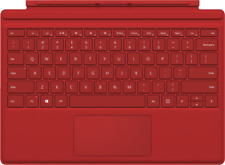 Artikelbild MICROSOFT Surface Pro 4 Type Cover QWERTZ-Layout Rot