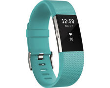 Artikelbild FITBIT Charge 2 Large, Activity Tracker, 165-206 mm, Türkis/Silber